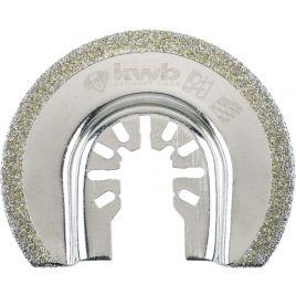 Lama per multifunzione diamantata semicircolare kwb