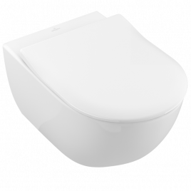 Subway 2.0 vaso sospeso bianco alpin ceramic plus + sedile softclosing