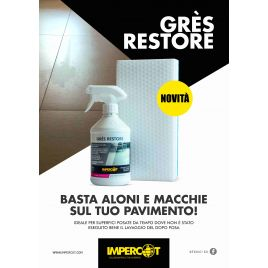 Kit gres restore buffer pad impercot