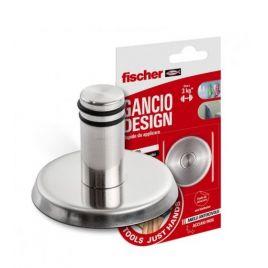 Gancio design in acciaio inossidabile  ntjh resistente fino a 3kg - fischer