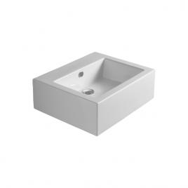 Fz10 frozen lavabo cm 60 sospeso o da appoggio bianco
