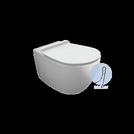 Vaso wc - vignoni simas - sospeso  bianco con set fissaggio