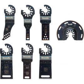 Set multifunzione 7 pezzi in valigetta  di alluminio akku-top kwb