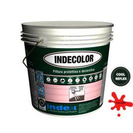 Indecolor cool reflex (rosso ral3009) pittura riflettente da 20 kg