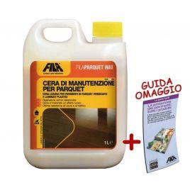 Cera liquida pavimenti legno fila parquet wax 1l + guida omaggio filaparquet