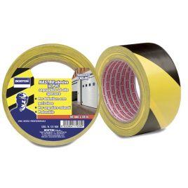 Nastro segnaletico adesivo mm50x33 mt giallo/nero boston