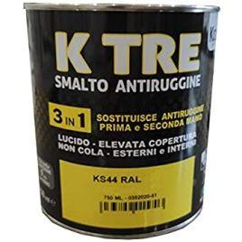 Smalto anti ruggine kcolor k tre 3 in 1 0,75lt sostituzione antiruggine prima e seconda mano