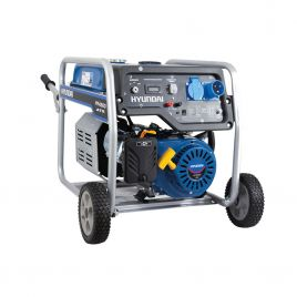 Generatore di corrente silenziato benzina 389cc hyundai 5,8kw