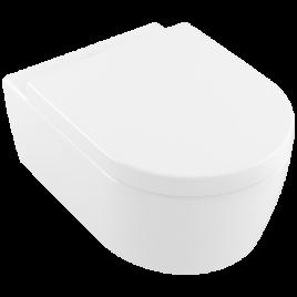Avento vaso sospeso bianco alpin ceramic plus + sedile softclosing