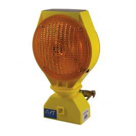 Lampeggiatore bifacciale solar  ricarica tramite pannello solare ft