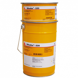 Impregnate epossidico Sikadur-330 (AB) latta 5 kg (A+B)