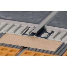Giunto Di Dilatazione Per Pavimenti Dilex Bwb Pvc H.12,5 Grigio L.2,50 M