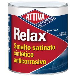 Smalto sintetico satinato relax  bianco lt.0,75