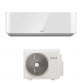 Condizionatore Climatizzatore Ambiente Unità Interna Ed Esterna UNICAL AIR CRISTAL 13000Btu KMUN 13H R-32