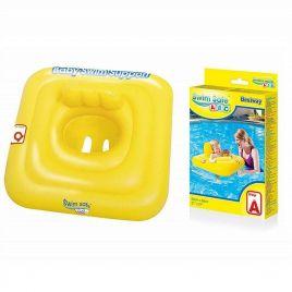 Giubbetto salvaggente mutandina quadrato swim safe abc step a cm. 76x76 bestway 32050