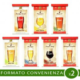 Malto birra artigianale 2 pezzi thomas coopers selection a scelta