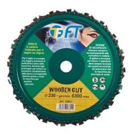 Disco a catena per legno d.230mm ft wooden cut
