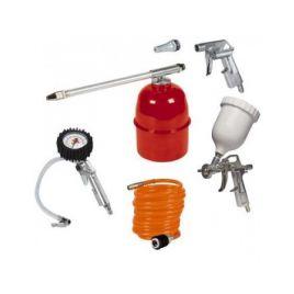 Set 5 accessori per compressore einhell